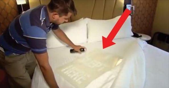 Prachtig altijd die strak opgemaakt bedden in een hotel. Kreeg ik het thuis maar zo netjes. Dat komt vast omdat de lakens net van de stomerij afkomen. Blijkt dat niets minder waar hoeft te zijn…Heb je wel eens getwijfeld na het inchecken en betreden van je hotelkamer of de lakens wel zijn verwisseld? Blijkt dat …