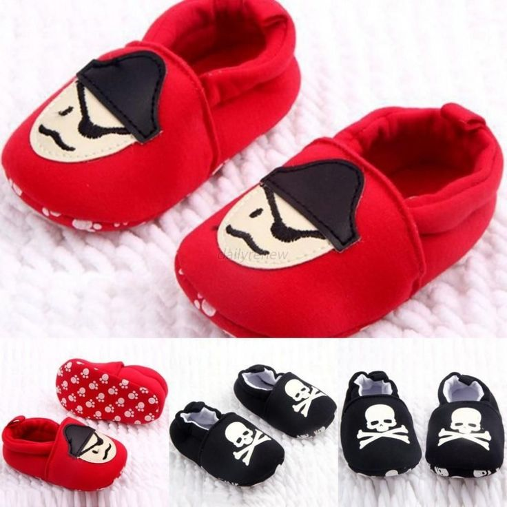 0 12M Toddler Baby Girls Boys Skull Pirate Printed Casual Shoes Soft Sole First Walkers Free Shipping Wholesale-in First Walkers from Kids & Mothercare on Aliexpress.com | Alibaba Group