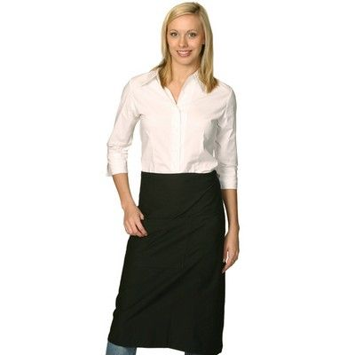 Long Waist Promotional Apron Min 25  #Apron #PromotionalProducts - Long waist apron - 210GSM 100% Cotton canvas with pocket and flap. http://www.promosxchange.com.au/long-waist-promotional-apron/p-5233.html