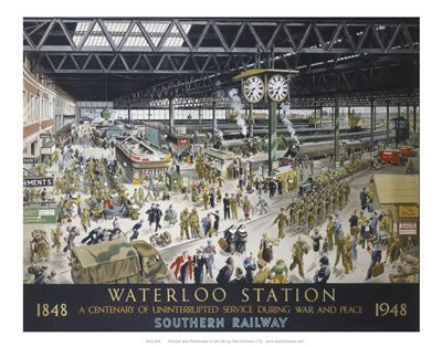 Waterloo StationSouthern Railway 1848 to 1948