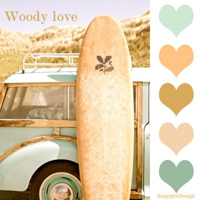 #color  woody love: Summer Day, Summer Surfing, Surfing Boards, Vintage Surfing, Beaches Life, Surfing Up, Cars, Cottages Life, Beaches Cottages