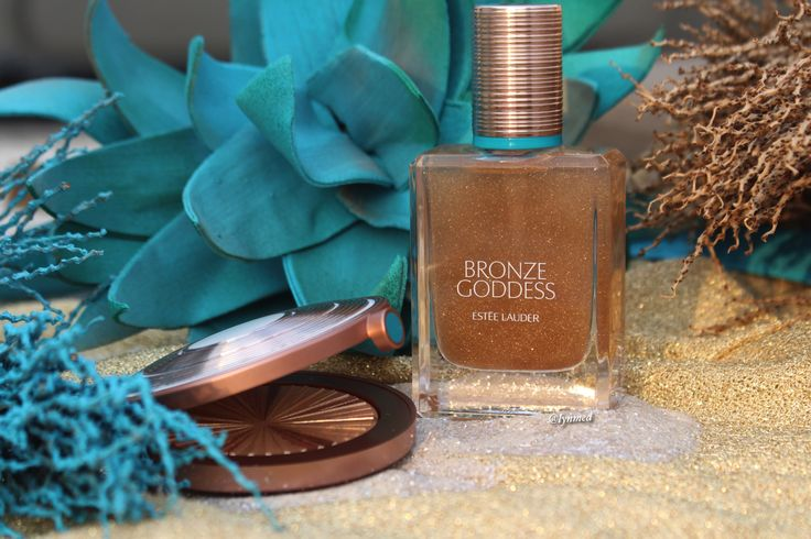 Bronze goddess collection by Estée Lauder