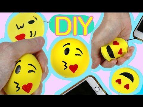 Squishy foam and Stress ball  emoji - YouTube