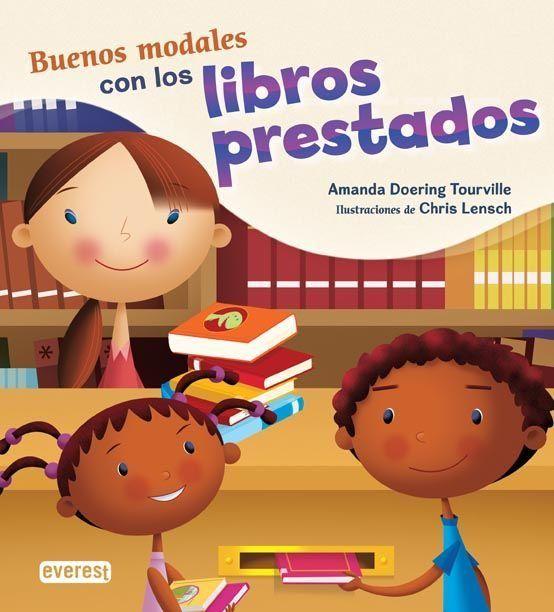 ¿Qué opinas de que tu hermanita juegue con un libro de la biblioteca?. Descubre cómo los buenos modales ayudan a que todo el mundo pueda disfrutar de los libros prestados.