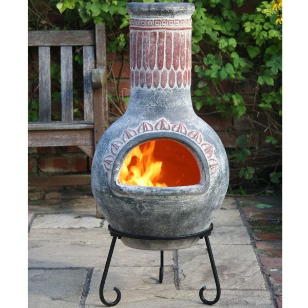 chimneia google search garden pinterest image large clay chiminea outdoor fireplace Lowe's Chiminea Outdoor Fireplace
