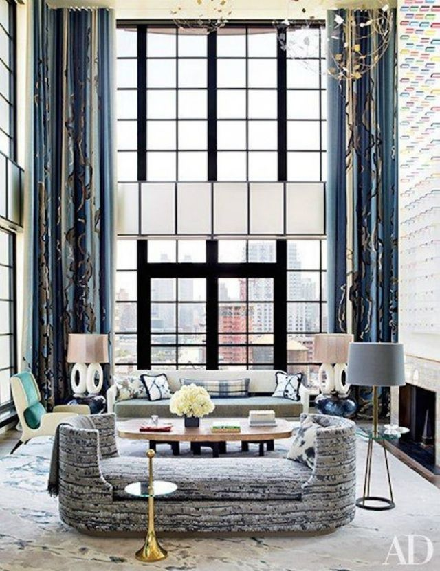 The Most Sophisticated Living Room Ideas In Architectural Digest | Living Room Inspiration. Home Decor. Read more: https://www.brabbu.com/en/inspiration-and-ideas/interior-design/sophisticated-living-room-ideas-architectural-digest