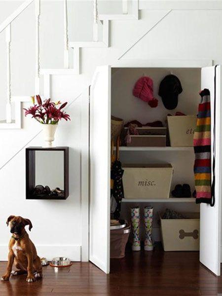 Ideas funcionales para ese hueco en la escalera.