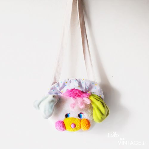 Sac à main Popples vintage