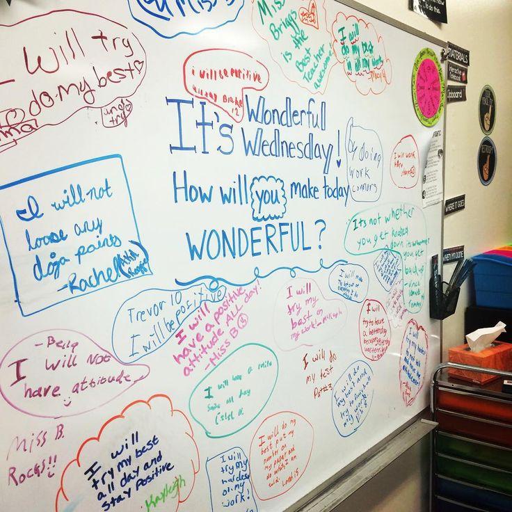 """Can't bring myself to erase this board! #wonderfulwednesday #fifthgrade #iteachfifth #teachersofinstagram #teachersfollowteachers #iteachtoo…"""