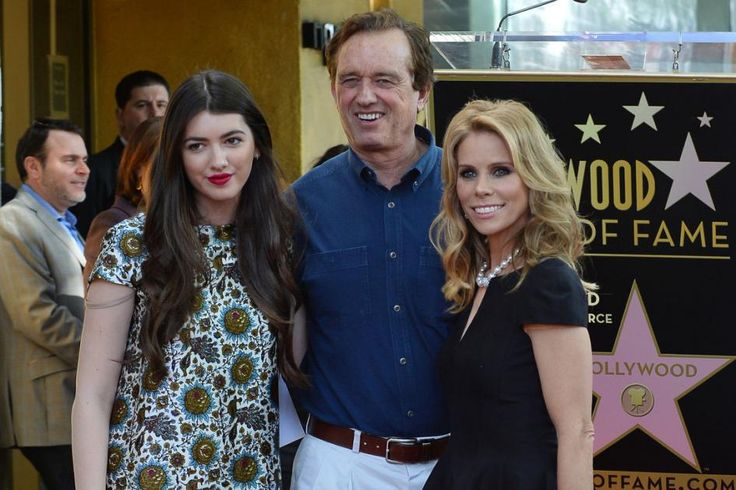 Robert Kennedy Jr., daughter Kyra LeMoyne and his fiance, Cheryl Hines Robert Kennedy Jr. and his daughter Kyra LeMoyne Kennedy pose with his fiancŽ, actress Cheryl Hines (R) during an unveiling ceremony honoring Hines with the 2,516th star on the Hollywood Walk of Fame in Los Angeles on January 29, 2014. UPI/Jim Ruymen | License Photo