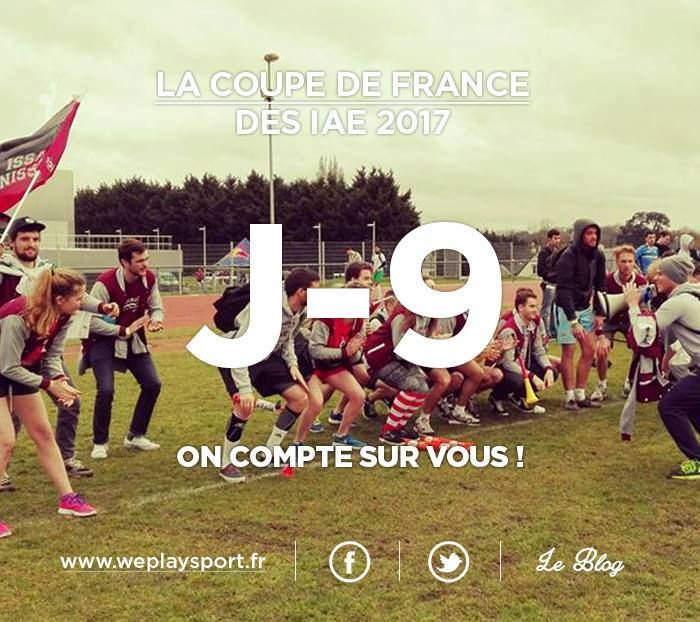 Etudiant de l'IAE, ce message tu liras !  À quelques jours de cette magnifique 10ème édition la Coupe De France des IAE, nous espérons vous voir rugir sur les terrains comme tout bon gone qui se respecte !  Vous allez suer mes amis : sur le terrain mais aussi sur le dancefloor ! Pour rendre ce week-end spectaculaire et faire en sorte que CETTE édition soit celle dont l'on parlera encore longtemps, nous avons besoin de vous. Soutenez notre projet sur notre plateforme crowdfunding…