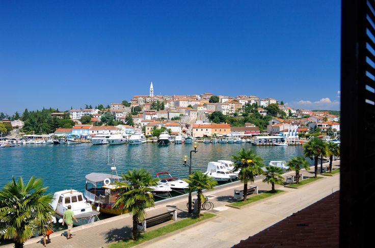 Beautiful view from resort Riva in Vrsar, Istria, Croatia.  More info here http://www.maistra.com/Accommodation/Resorts/Riva_Vrsar