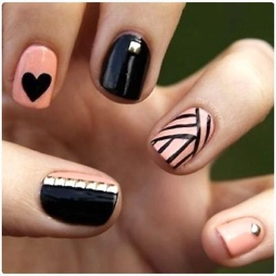 Pretty stuff! #nailart #nails #manicure #kawaii