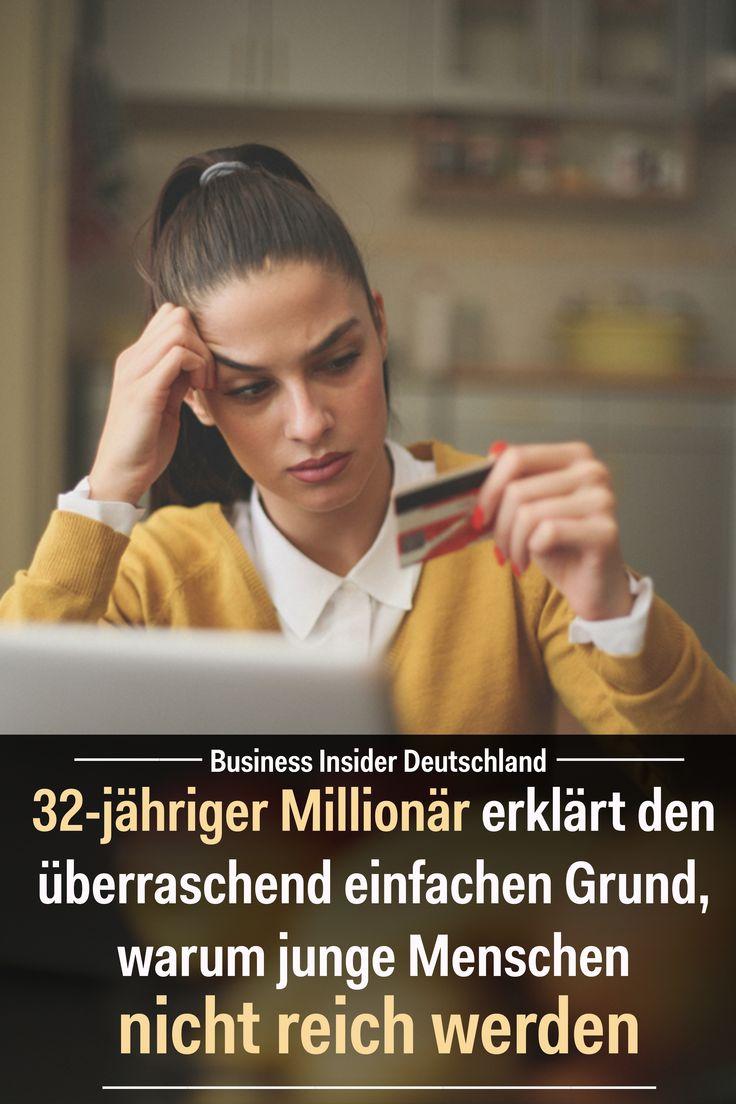 32-jähriger Millionär erklärt den überraschend einfachen Grund, warum junge Menschen nicht reich werden – Business Insider Deutschland