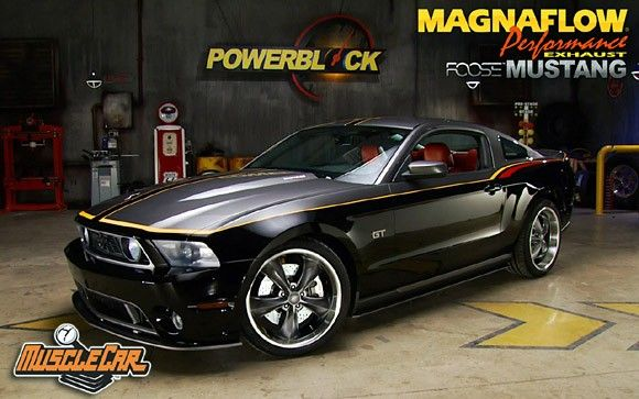 Chip Foose builds a custom 2010 Ford Mustang