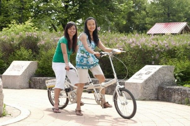Hop on a tandem bike and explore The Forks paths and greenery along the Red and Assiniboine rivers. Win your Winnipeg adventure including flight, hotel and an adventure YOU choose! Visit http://www.tourismwinnipeg.com/pin-and-winnipeg to enter!