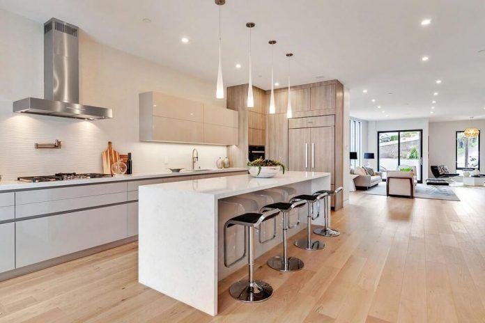 Bright and modern home design in San Francisco by Vaso Peritos