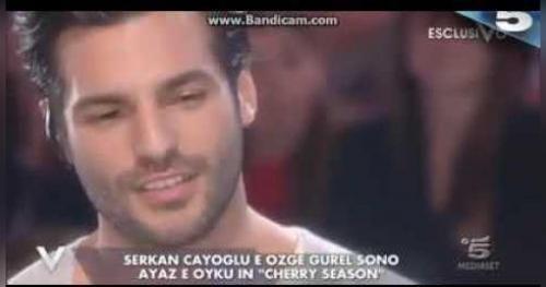 Cherry Season - Verissimo: Intervista a Serkan e Ozge (Serkan parla della sua famiglia)
