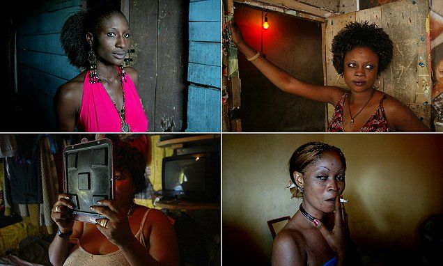 Inside the squalid brothels of Nigeria