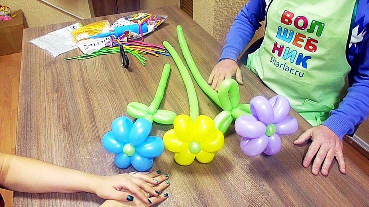 Беседы о воздушных шарах. №11: Малые ромашки