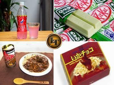 5 Makanan Jepang Paling Aneh Bikin Anda Berpikir Membelinya
