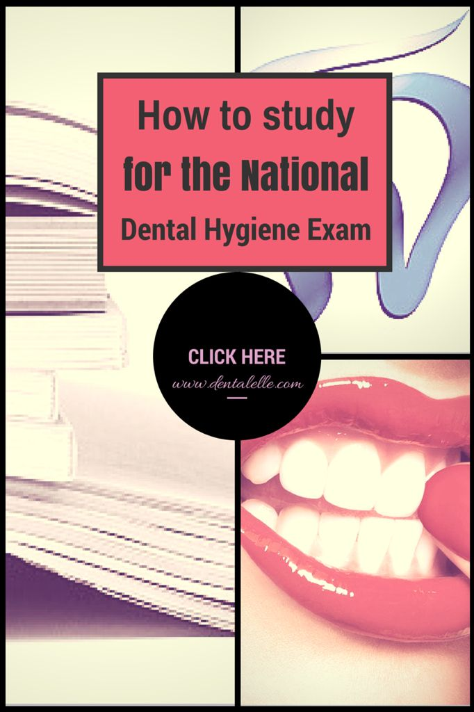 How to study for the national dental hygiene exam - click here for self study prep packages, full board exam prep courses and mock exams at: dentalelle.com (98% success rate!)