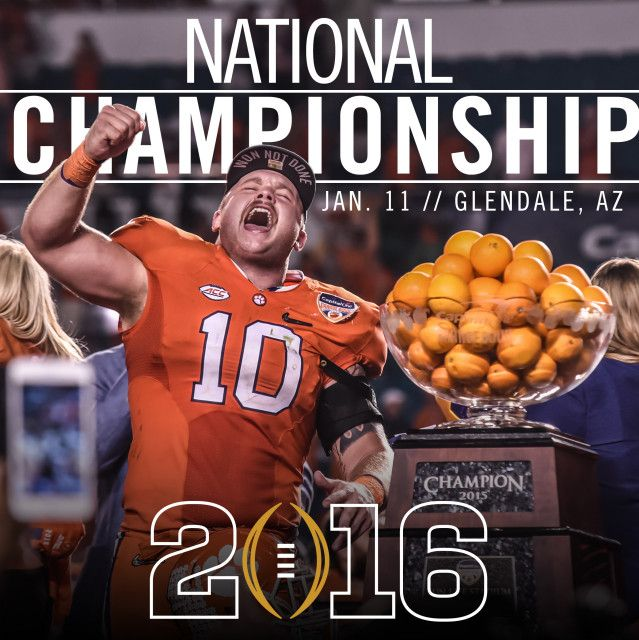 National Championship Info - Clemson Tigers Official Athletics Site