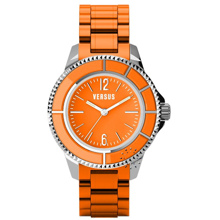 VERSUS Tokyo Orange Rubber Strap Τιμή: 155€ Τιμή Προσφοράς: 79€ http://www.oroloi.gr/product_info.php?products_id=27821
