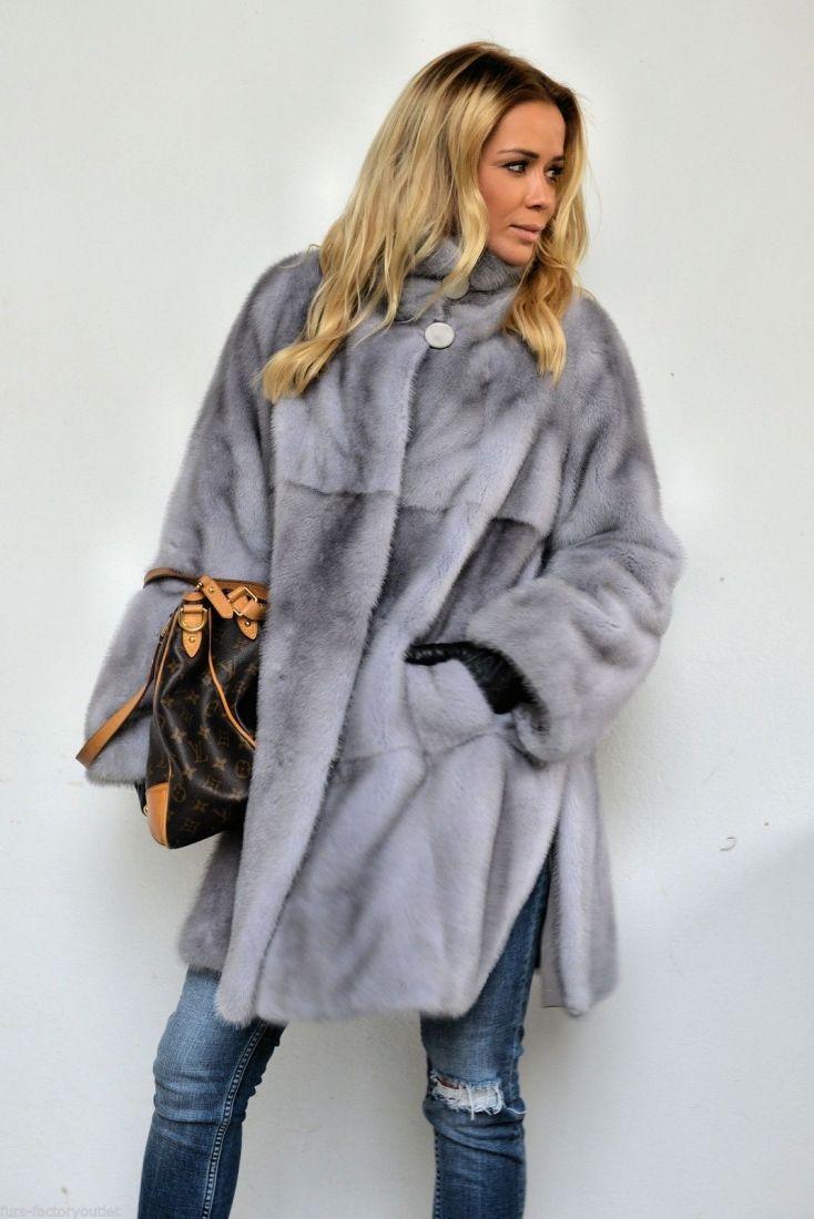 mink furs - sapphire royal saga mink fur coat
