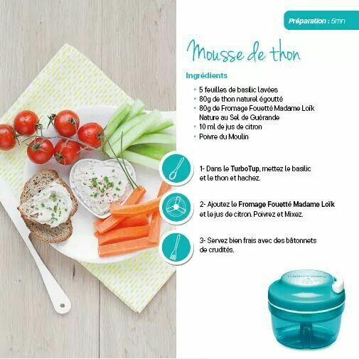 Tupperware - Mousse de thon