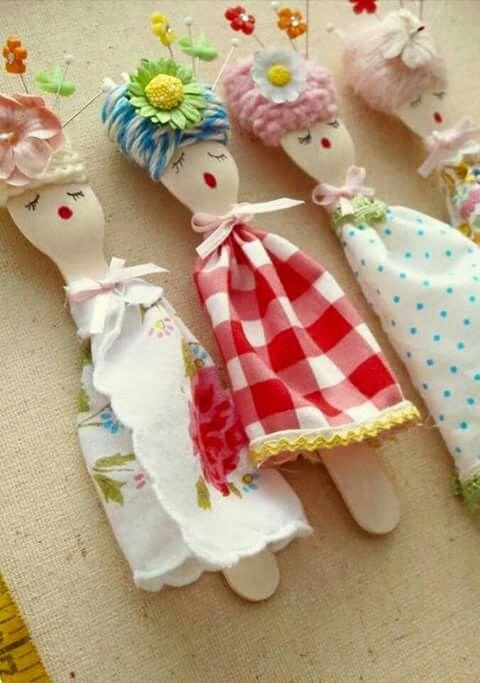 Spoon dolls