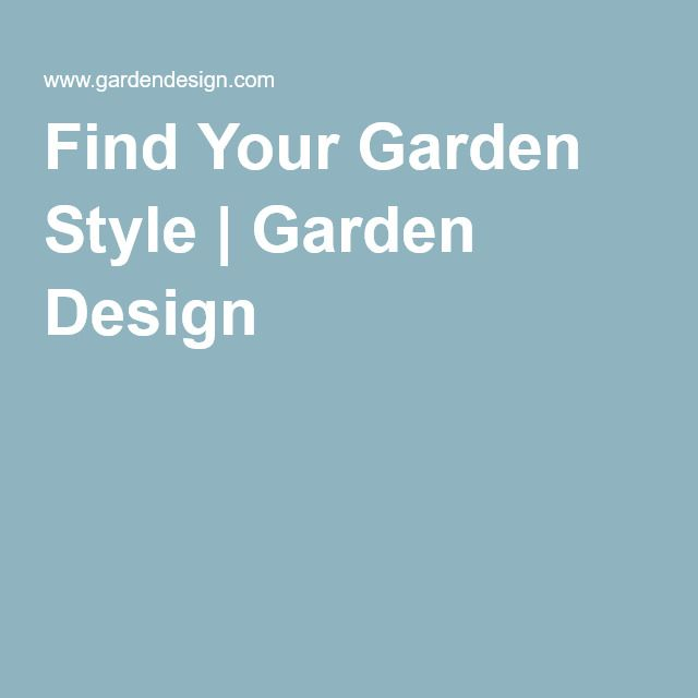 265 best Garden Design Theory and Concepts images on Pinterest