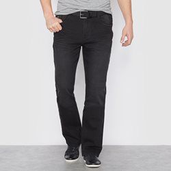 Jeans em ganga stretch leve CASTALUNA FOR MEN