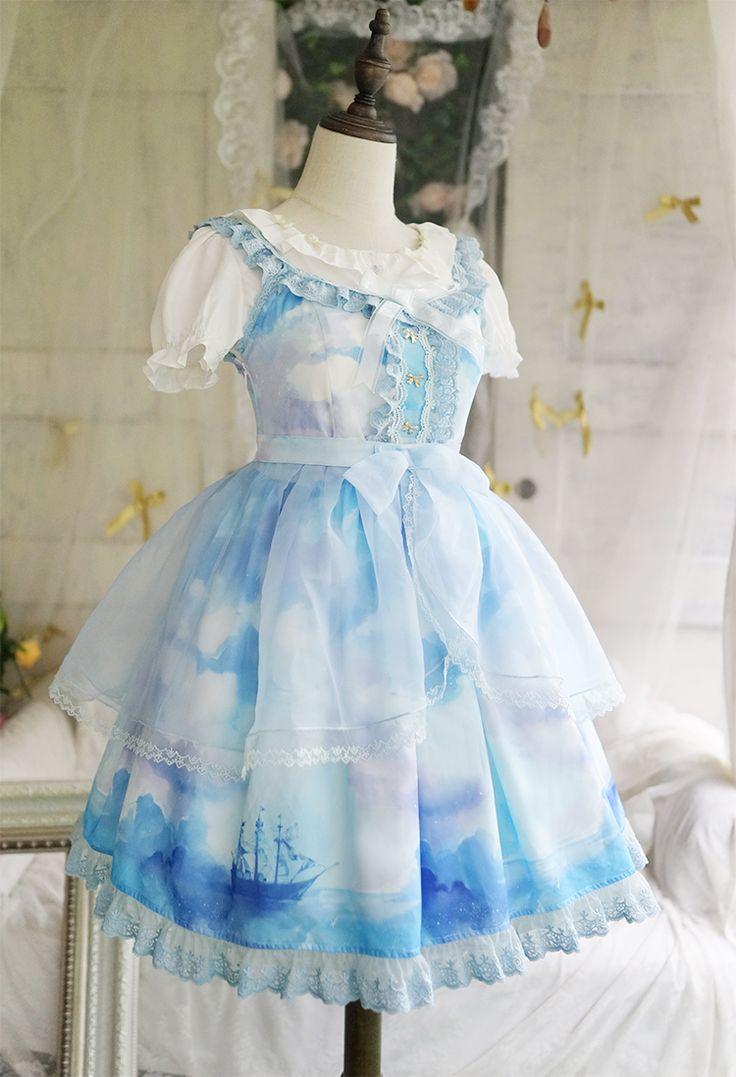 12 best Lolita Wardrobe ♥ Dresses images on Pinterest | Lolita ...