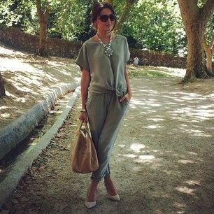 happy after having lunch with my love, Im wearing a total look @bgoandme