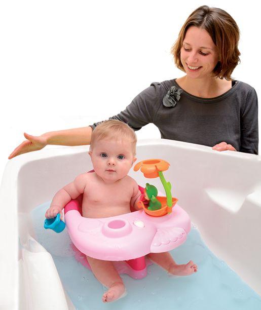 Detské sedátko do vody Cotoons je milý doplnok na kúpanie pre najmenšie deti. Je vhodné hlavne pre dievčatká od veku 6 mesiacov. Deti sedia na sedátku ako na stoličke a počas kúpania sa výborne zabavia.
