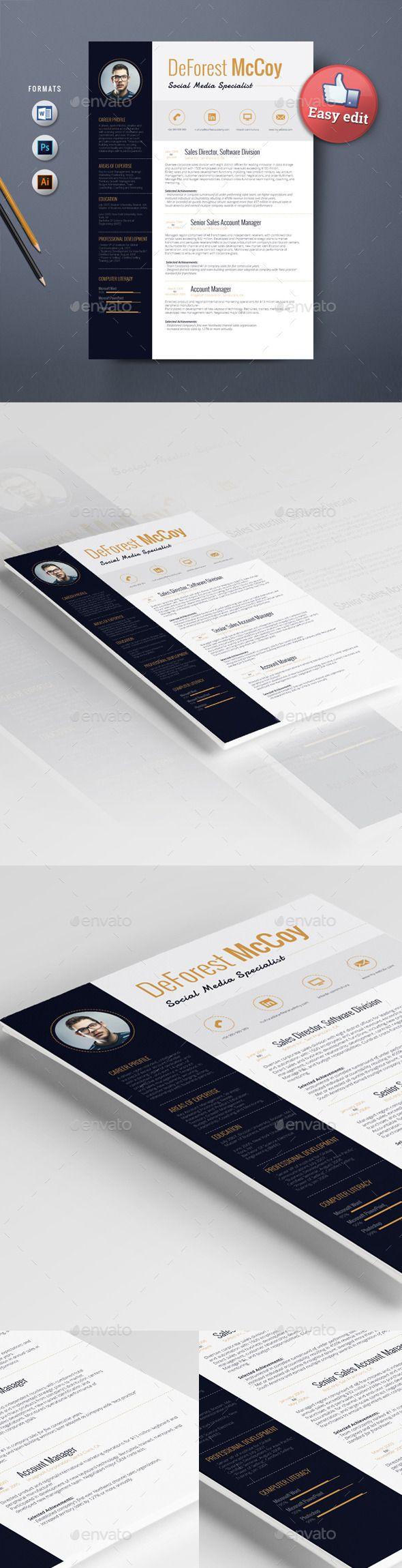 Resume Template Alderamin 139 best Best Resume