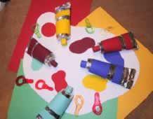 thema kunst - Lespakket - thema's, lesideeën en informatie - onderwijs aan kleuters