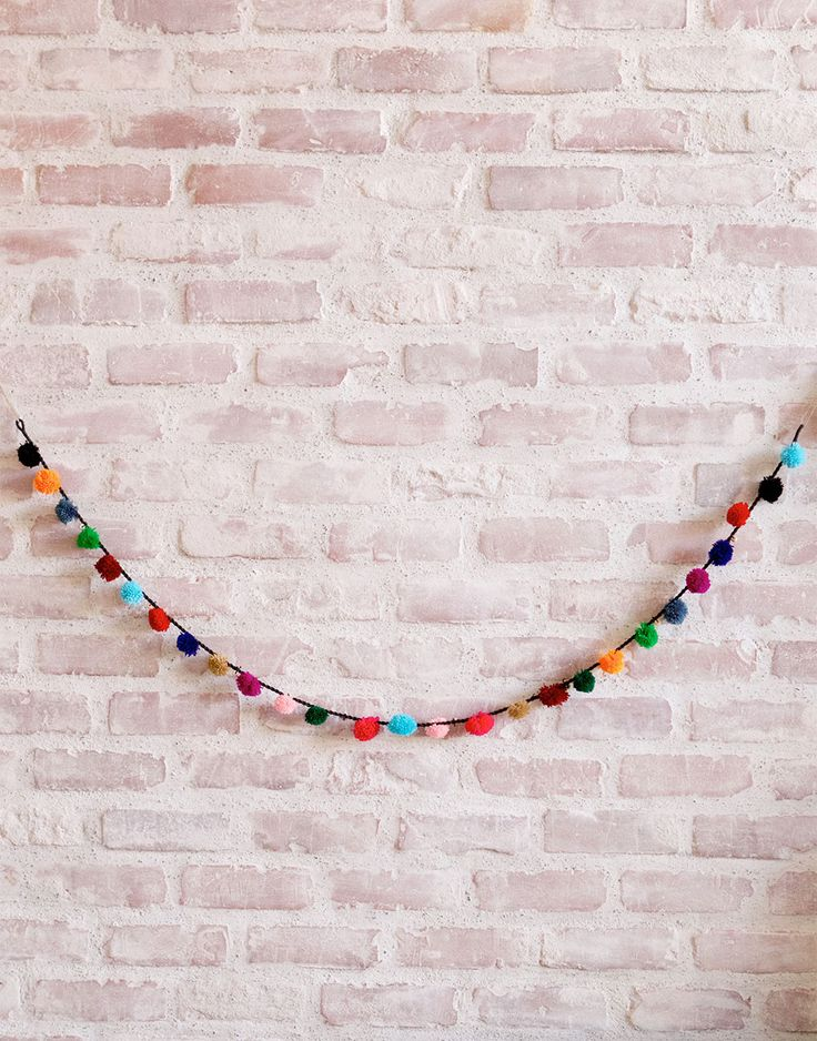 Pom Pom Garland from The Little Market