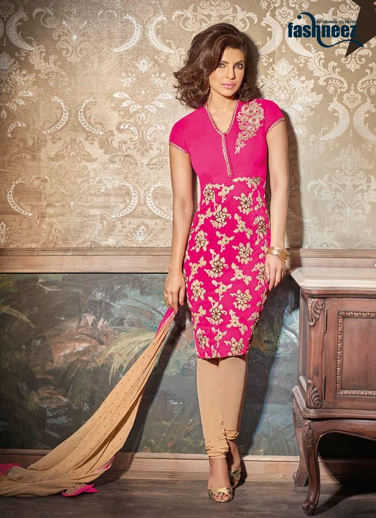 7 best Priyanka Chopra Anarkali Suits images on Pinterest | Trajes ...