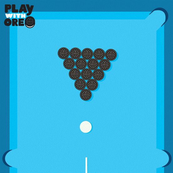 Strike out boredom with an Oreo. #PlayIt #PlaywithOreo