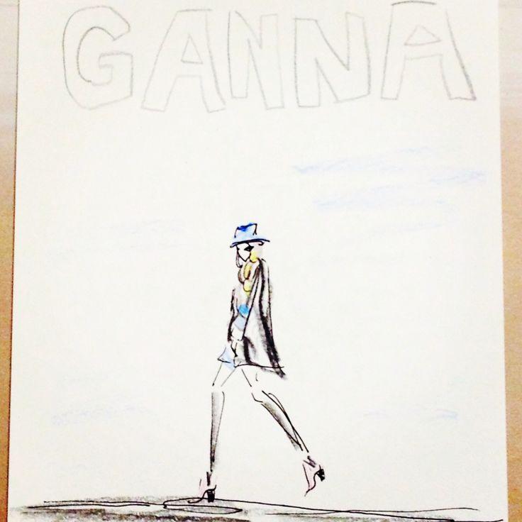 #ganna_bogdan #fashion #illustration