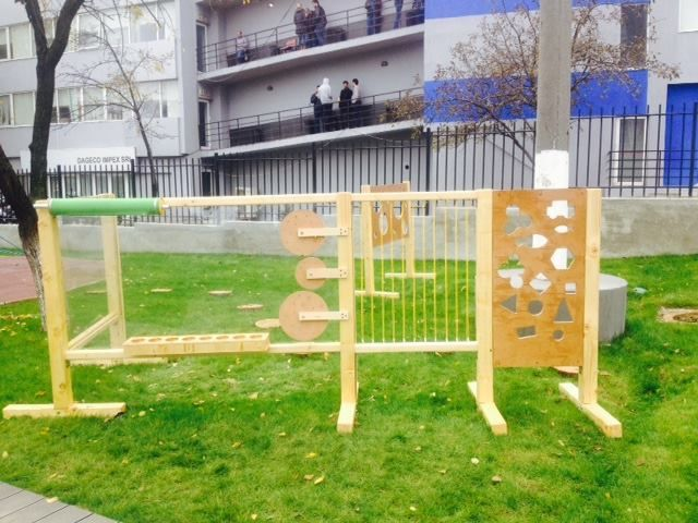 IKEDOO institute playground for IBOO kindergarten - the craft installation