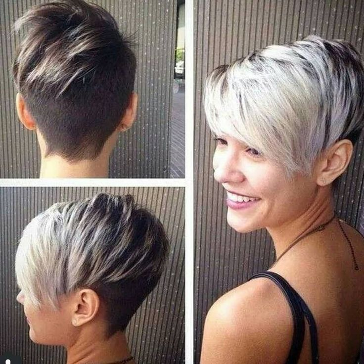 "✂Who loves pixies?  en Instagram: ""Stylist - @britshaircuts Model - @astylepixie : : DO YOU LOVE THIS????? GIVE ME ONE WORD!!!!! @astylepixie amazing ☺☺☺✋✋"""