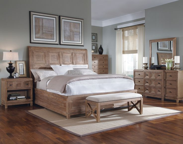 White Oak Bedroom Furniture