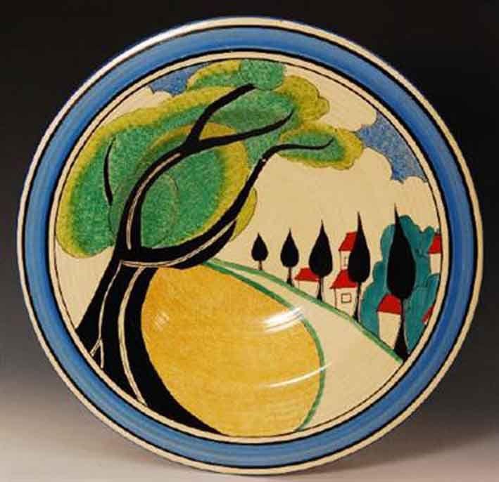 The 25 best clarice cliff ideas on pinterest for Pottery painting patterns
