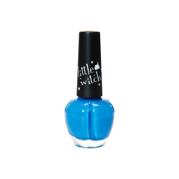 Water based Nail Polish for Kids & Student AMOS Manicure Non-toxic Fresh Blue #AMOS
