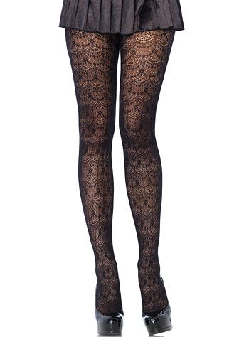 Chandelier Lace Net Tights at PLASTICLAND