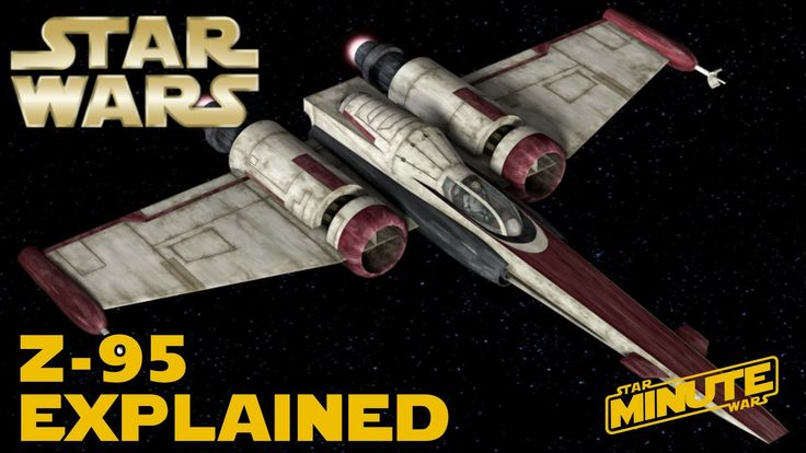 YouTubeZ-95 Headhunter Explained (Canon) - Star Wars Explained  Watch  (1:26)  ByStar Wars Explained  Views68,002  PublishedJun 8, 2016  Likes1,728  Comments140  Learn the history of the Z-95 Headhunter, the precursor to the T-65 X-Wing that was used during the Clone Wars through the Galactic Civil War. --- Subscribe ...  Images may be subject to copyright