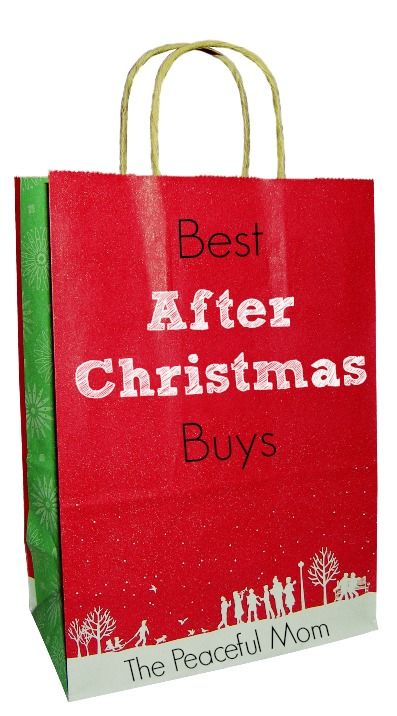 Love bargains? Check out the Best After Christmas Buys (6 Items to Look for at the After Christmas Sales!) -- from ThePeacefulMom.com